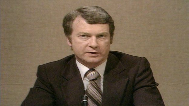 Milne was one of the main presenters of the BBC's coverage of the 1979 referendum