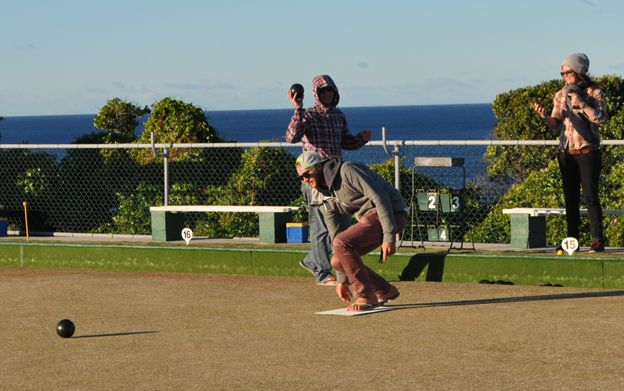 Members of Clovelly bowls club