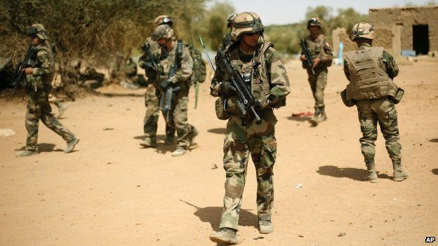 French soldiers in Gao, Mali - February 2013
