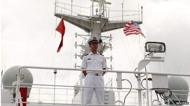 中国在2014和2016年都有获邀请,参加环太平洋联合军演。