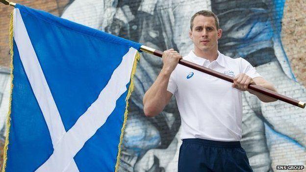 Euan Burton will be making his Commonwealth Games debut