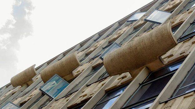 Birmingham's concrete buildings