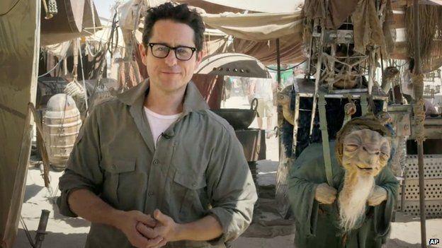 JJ Abrams on the Star Wars set in Abu Dhabi