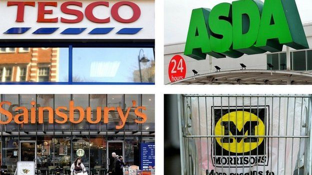 Four main supermarkets