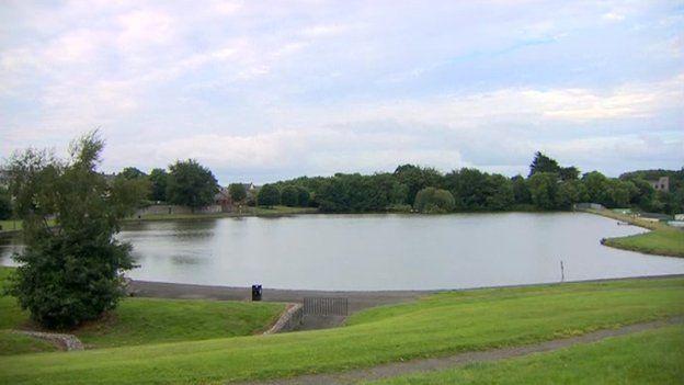 Bessbrook pond