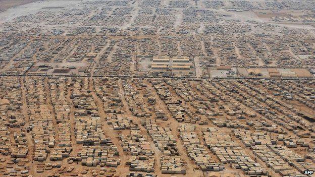 Jordan's Zaatari camp for Syria refugees