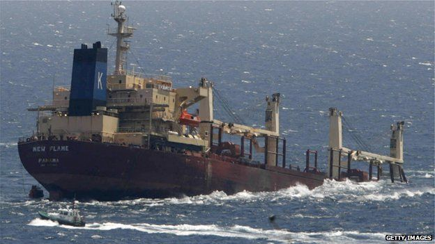 Why so many shipowners find Panama's flag convenient - BBC News
