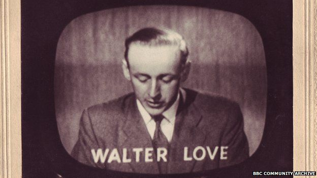 Walter Love makes his first television appearance in 1960