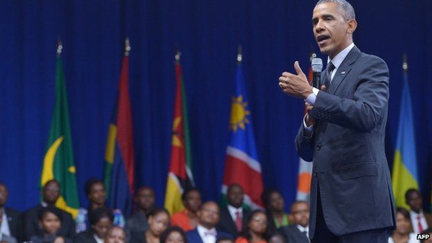 US-Africa summit: What does Obama hope to achieve? - BBC News