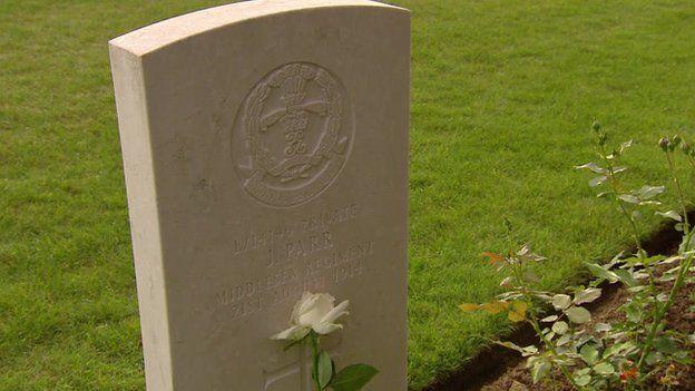 Grave of John Parr