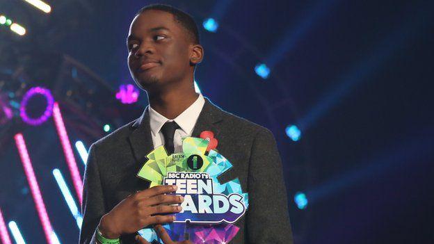 Jeremiah Emmanuel was among the Teen Hero winners in 2013