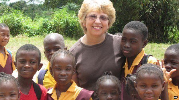 Nancy Writebol in Liberia - October 2013