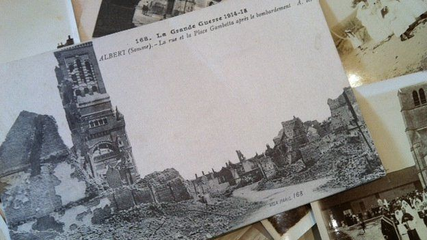 Postcards from World War One