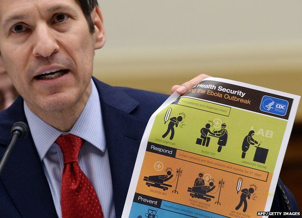 US Centers for Disease Control and Prevention (CDC) Director Tom Frieden