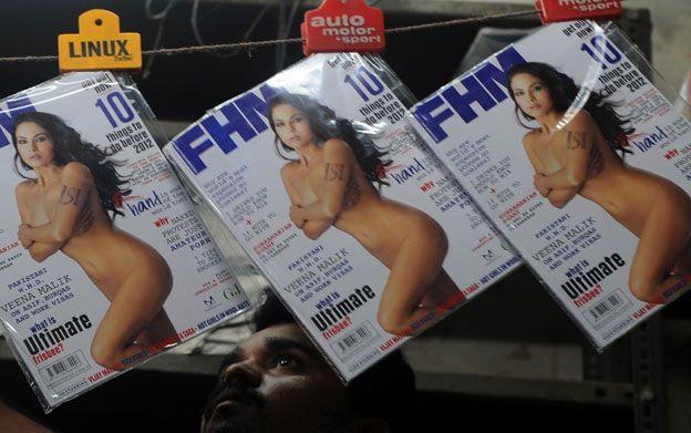 Veena Malik on FHM