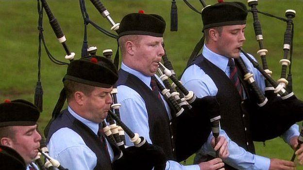 Field Marshall Montgomery Pipe Band