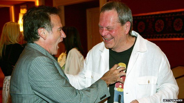 Robin Williams and Terry Gilliam