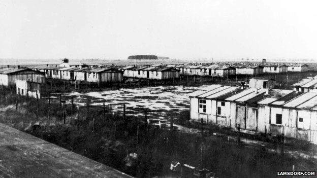 Huts at Lamsdorf