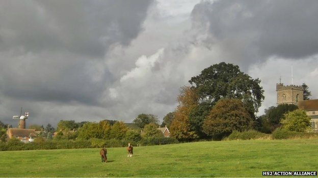 Quainton in Buckinghamshire