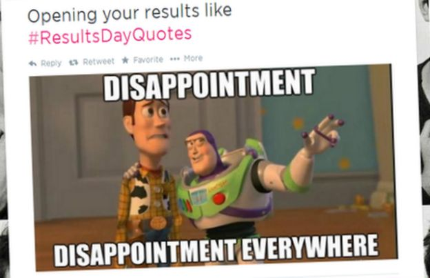 Bbctrending Students See The Funny Side Of Exam Results Day