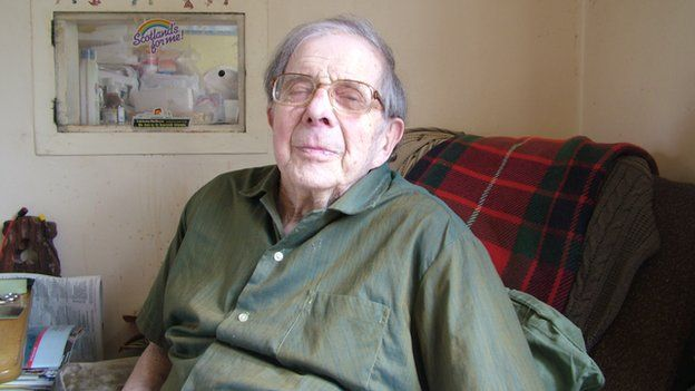 Ted Cross, now 92