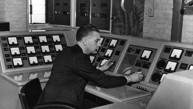 BBC transmitter centre, 1949 picture