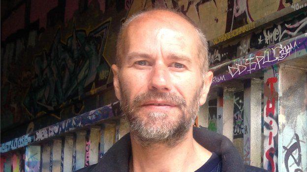 Fred Lunn, a former YOI inmate