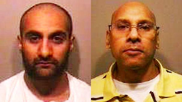 Shahzad Mahroof and Bernard Pillay