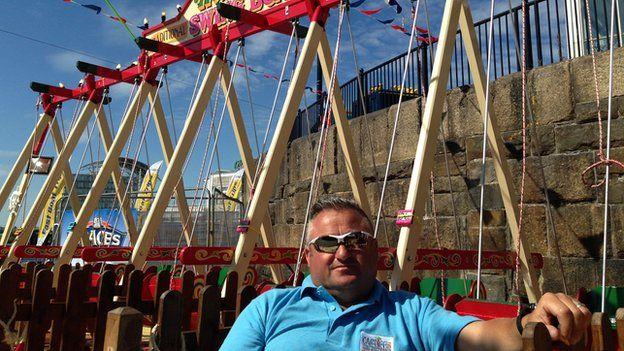 Jason Hill, 42, from Llanelli,
