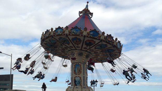 Fair in Cardiff Bay