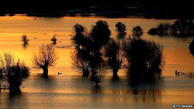 Floods Somerset