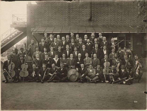 The Ruhleben orchestra