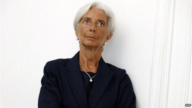 Christine Lagarde (27 August 2014)