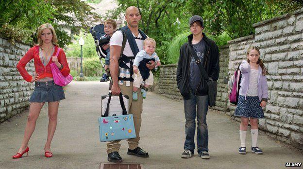 Vin Diesel in The Pacifier