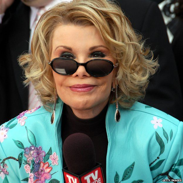 Joan Rivers at the Oscars in 2005