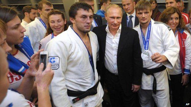 Vladimir Putin in Siberia, 31 Aug