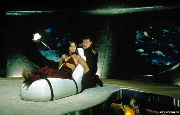 Scene from Bond film The Spy Who Loved Me