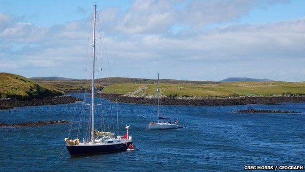 Iachtaichean an Loch nan Madadh