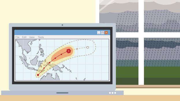 Cartoon of a laptop