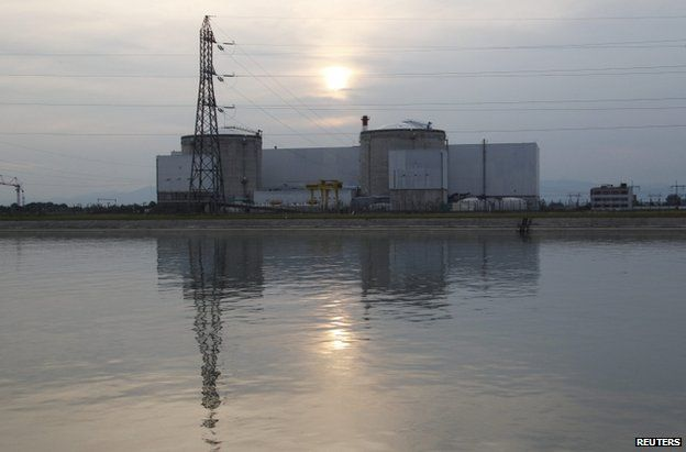 Fessenheim nuclear power plant (file photo from 5 September 2012)