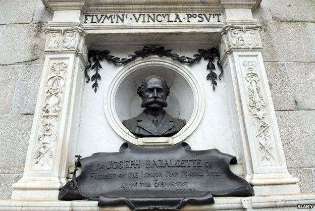 Sir Joseph Bazalgette memorial, Victoria embankment