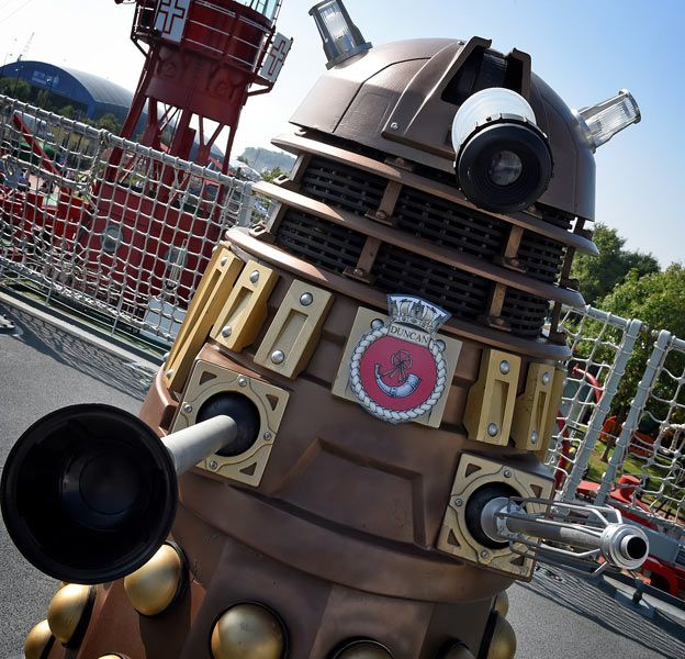 The Dalek on HMS Duncan