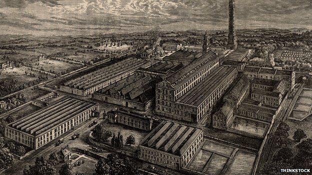 An old linen factory in Dundee