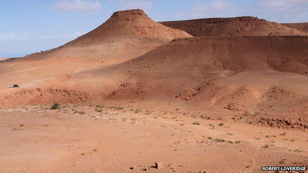Kem Kem fossil beds