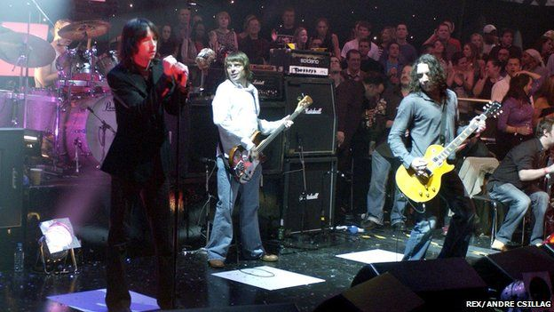 Primal Scream on Later... With Jools Holland in 2003