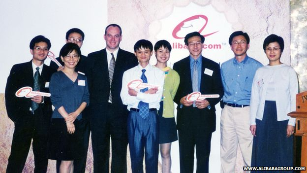 Alibaba in the early days