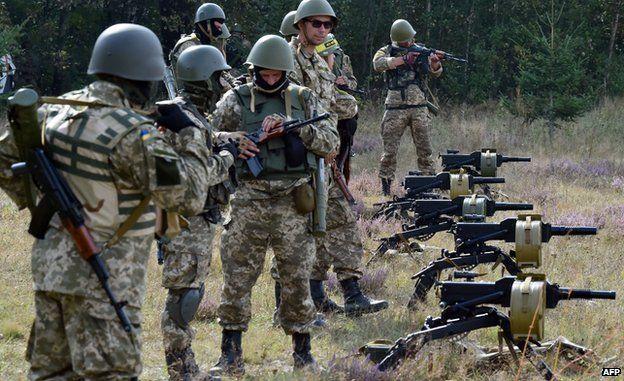 Ukrainian troops, 11 Sep 14