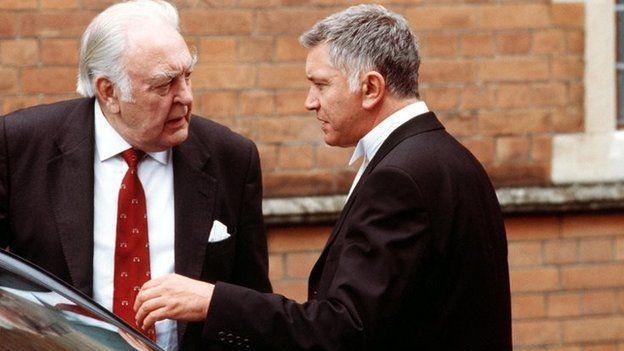 Donald Sinden and Martin Shaw