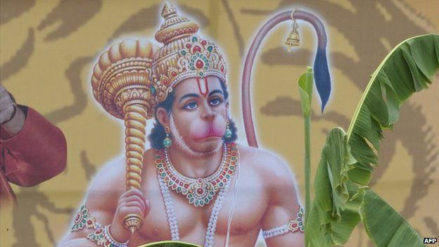 India probes identity card for monkey god Hanuman - BBC News