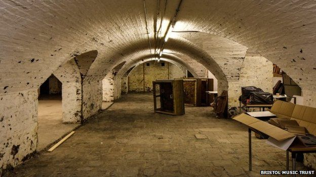 The cellars will be opened up to create workshop spaces